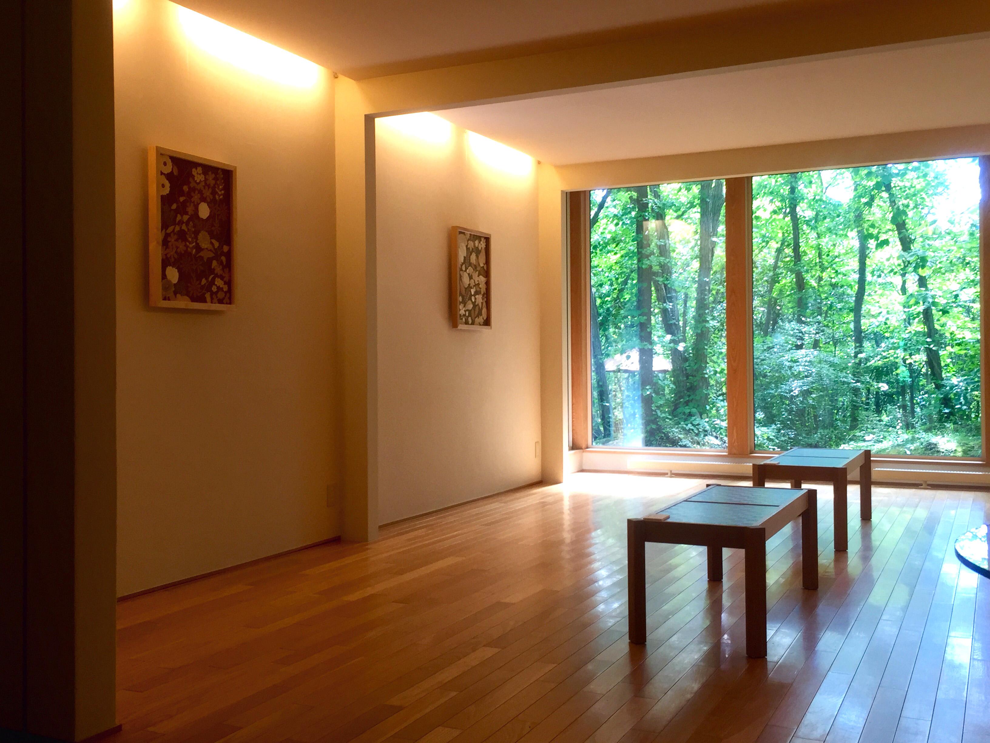 黒い森美術館展示風景