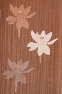 木象嵌 蓮の花