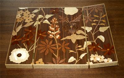 六花亭のお菓子箱に入るアート 六花ファイル