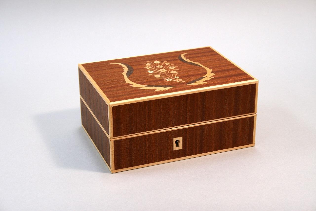 象嵌box Shimada Akio