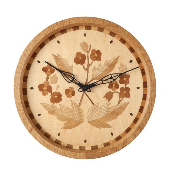 掛け時計 -Floral-