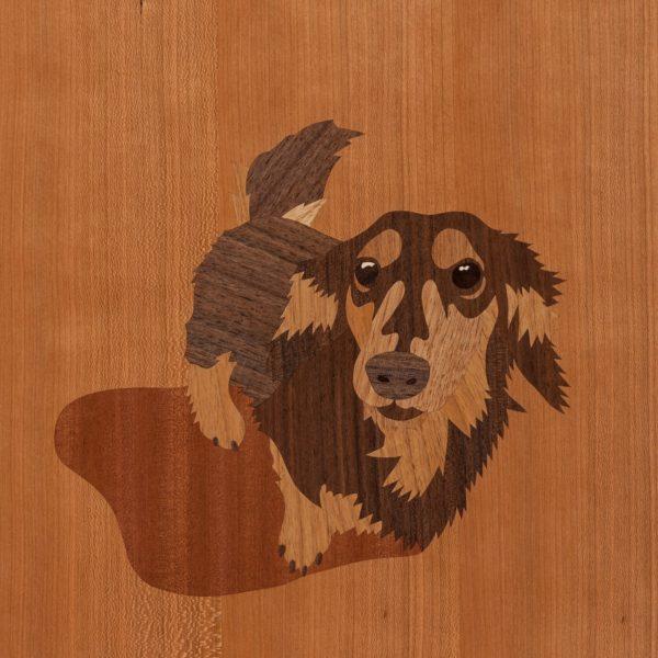 愛犬象嵌始めます。「犬好きによる犬好きのためのアート」