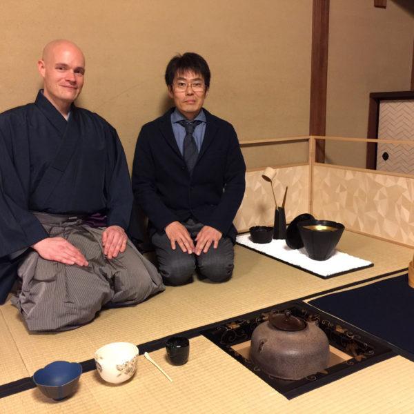 京都 茶会に風炉先屏風を出展してきました