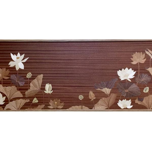 新居に飾る象嵌の花々 ー奈良で始まる日々にー